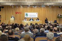 El periodista Ramon Besa, doctor Honoris causa per la UVic (UVIC-UCC)