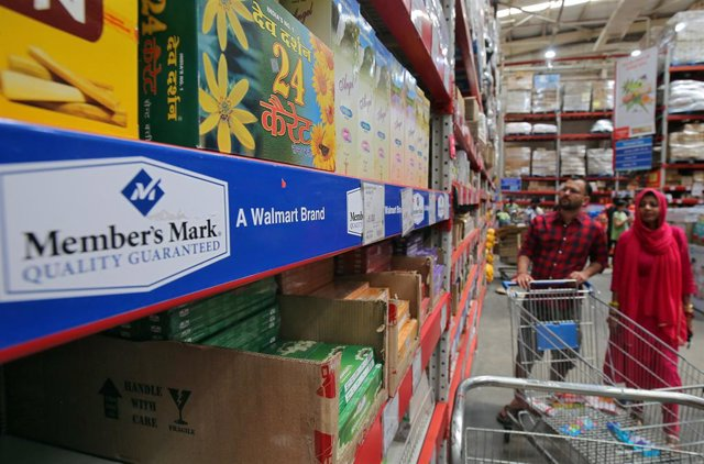 Grandes almacenes Walmart en India