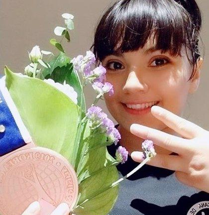 La gimnasta mexicana Alexa Moreno logra el bronce en la Copa Corea Jeju 2019