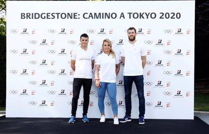 Lydia Valentín, Sergio Rodríguez y Javier Gómez Noya comparten con Bridgestone su cuenta atrás para Tokyo 2020