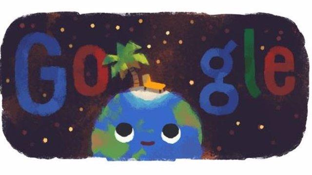 Google celebra la llegada del verano con un divertido 'doodle'