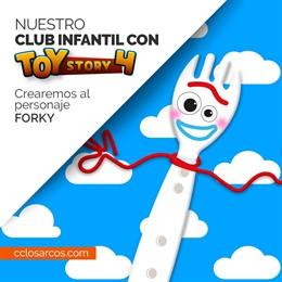 Sevilla.- La ludoteca de Los Arcos acoge este viernes un taller para crear a 'Forky', el nuevo personaje de Toy Story 4