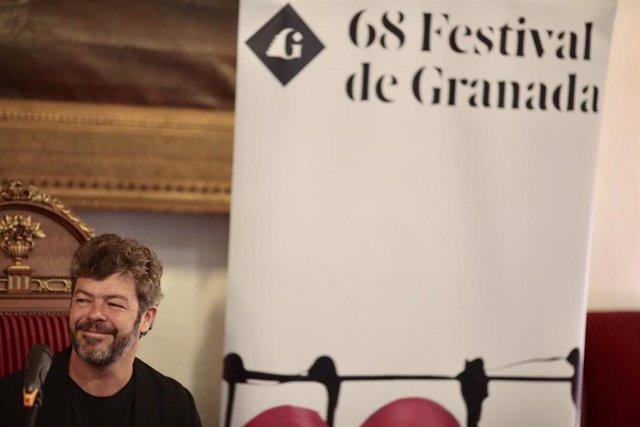 El director del Festival de Música y Danza de Granada, Pablo Heras-Casado