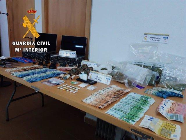 Drogas incautadas en la operación ATROX