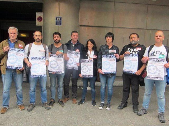Convocatoria de huelga de los sindicatos del Metal de Bizkaia