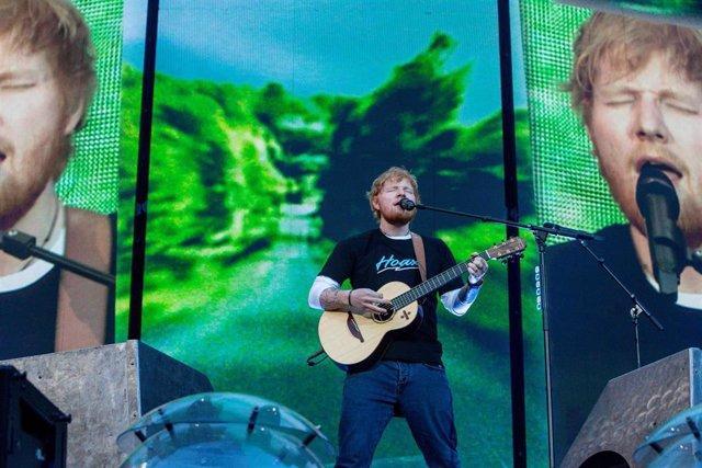 Concierto de Ed Sheeran en el Wanda Metropolitano