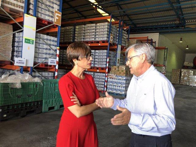 Gámez informa sobre programa de reparto de alimentos