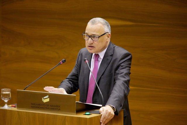 Javier Enériz, defensor del Pueblo de Navarra