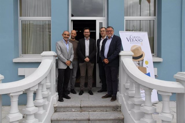 Fernando Gimeno, MIkel Pérez, Javier Incera, Carlos Mouriz y Joaquín Díaz