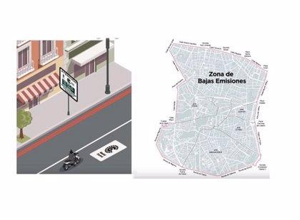 Anesdor reclama que las motos con etiqueta de la DGT circulen sin restricciones en Madrid