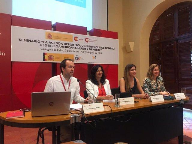 María José Rienda en la reactivación de la Red Iberoamericana Mujer y Deporte