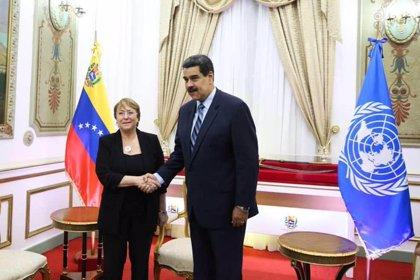 """Maduro asegura que la visita de Bachelet ha sido un """"éxito"""" para Venezuela"""