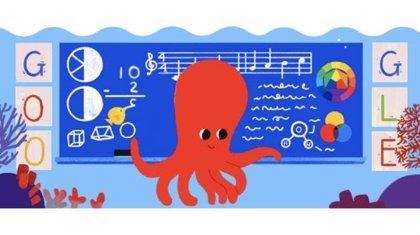 Google celebra el Día del Maestro en El Salvador con un animado 'doodle'