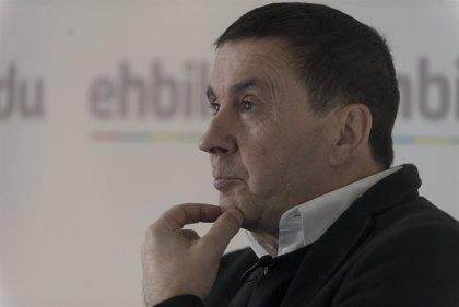 """Otegi dice que """"no caerán en la trampa"""" de abandonar el acuerdo de nuevo estatus como pretende PNV"""