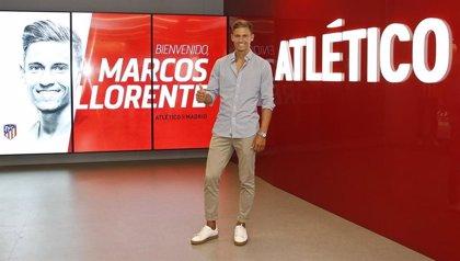 """Marcos Llorente: """"Simeone tiene un carácter único, transmite muchísimo a los jugadores"""""""