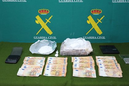 La Guardia Civil detiene a 6 personas y desarticula un grupo de distribución de cocaína en Asturias