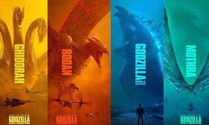 Todos los Kaiju (Titanes) en Godzilla 2: Rey de los Monstruos
