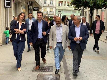 """Gonzalo Caballero afirma que """"todo está encarrilado"""" en el PSOE de Lugo"""