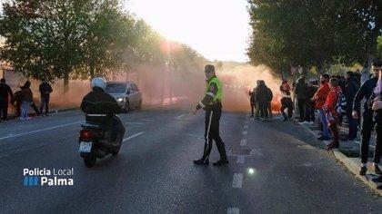 La Policía de Palma cierra el tráfico este domingo en Camí dels Reis con motivo del partido del RCD Mallorca