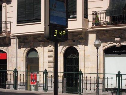 Prosigue este domingo el ascenso de temperaturas en Euskadi, que podrán alcanzar los 35ºC en el interior