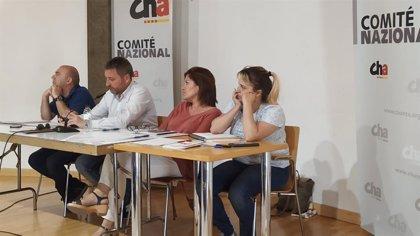 CHA negociará la investidura de Lambán y querría entrar en el Gobierno de Aragón