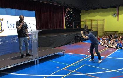 Ricky Rubio presenta su campus de baloncesto en Alcobendas