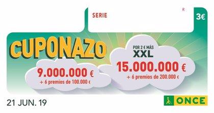 El Cuponazo de la ONCE deja 250.000 euros en el centro de Ronda