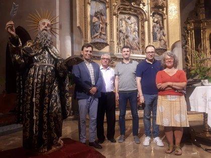 El Consell restaura la escultura del beato Ramon Llull de la parroquia de Artà