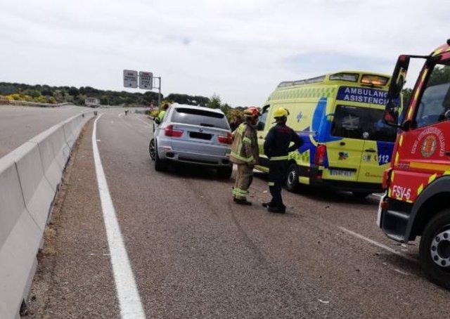 AMP.- Un muerto y cuatro heridos en una colisión entre dos vehículos en Puente Duero (Valladolid)