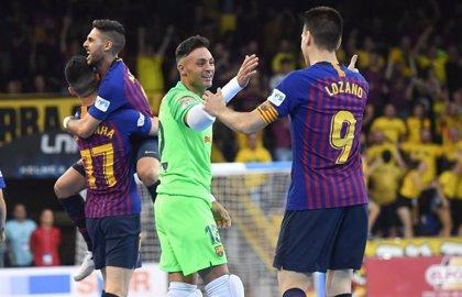 El Barça Lassa culmina el triplete gracias a su cuarto título de LNFS