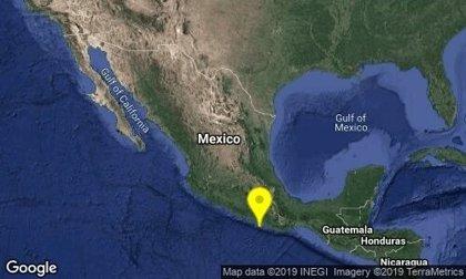 Un sismo de 5,6 grados sacude la costa sur de México
