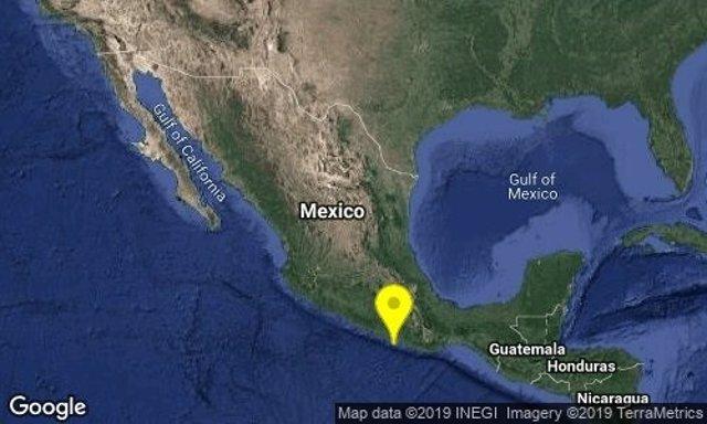 Sismo México centro