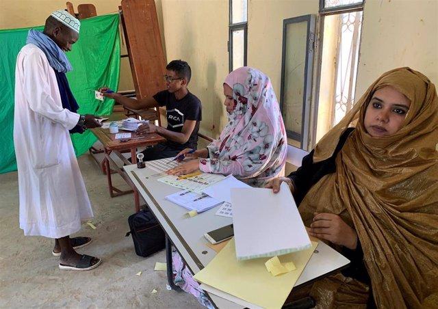 Elecciones en Mauritania
