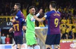 El Barça Lassa culmina el triplet gràcies al seu quart títol de l'LNFS (FC BARCELONA)