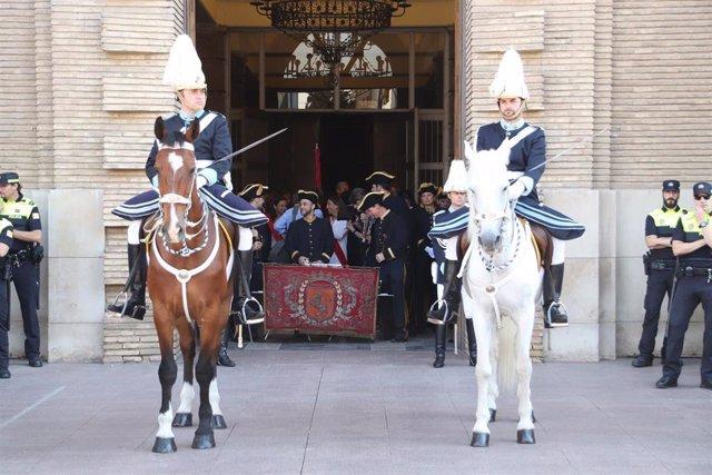 Zaragoza.- Azcón acude a la misa del Corpus Christi y reclama respeto para aquellos que participan en las tradiciones