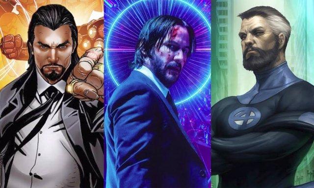 Keanu Reeves y personajes Marvel