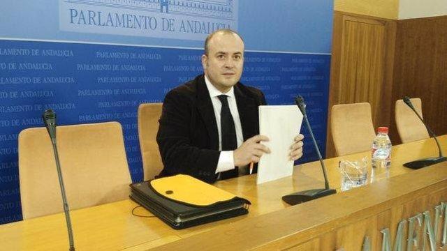 El portavoz provincial de Ciudadanos y vicepresidente del Parlamento de Andalucía, Julio Díaz,