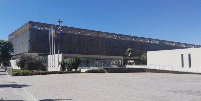 Diputación de Málaga. Fachada