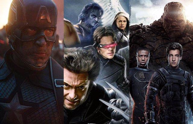 Los personajes de Marvel en el cine