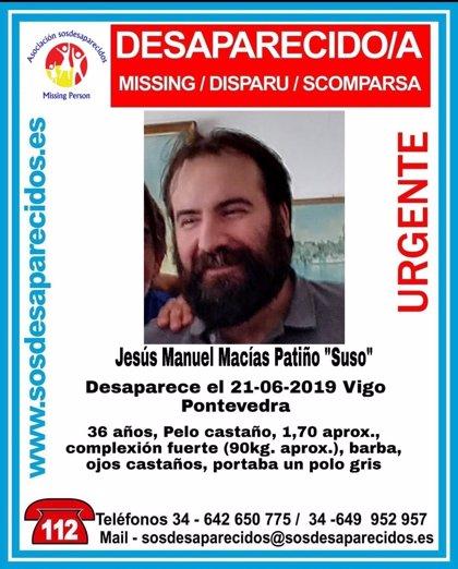 Alertan de la desaparición de un hombre de 36 años de Vigo