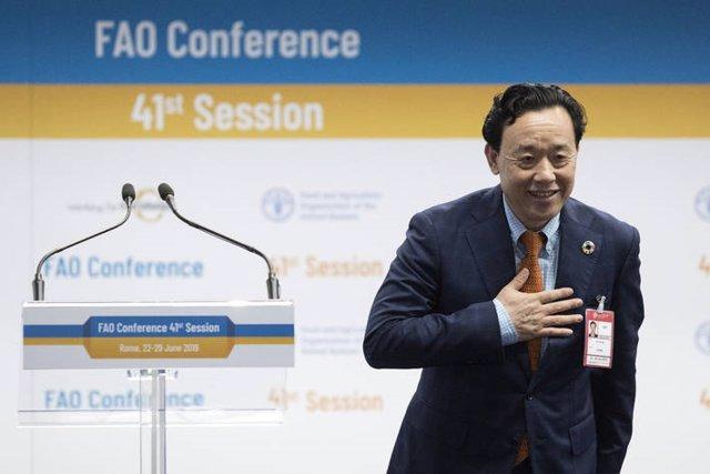 El chino Qu Dongyu es elegido nuevo Director General de la Organización de las Naciones Unidas para la Alimentación y la Agricultura (FAO)