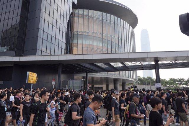 Protestes a Hong Kong