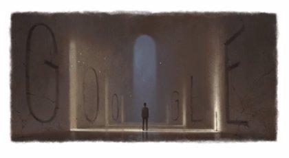 Google homenajea con un 'doodle' al novelista argentino Ernesto Sabato en el 108 aniversario de su nacimiento