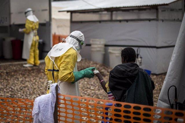 Centro de tratamiento contra el ébola en Butembo de MSF
