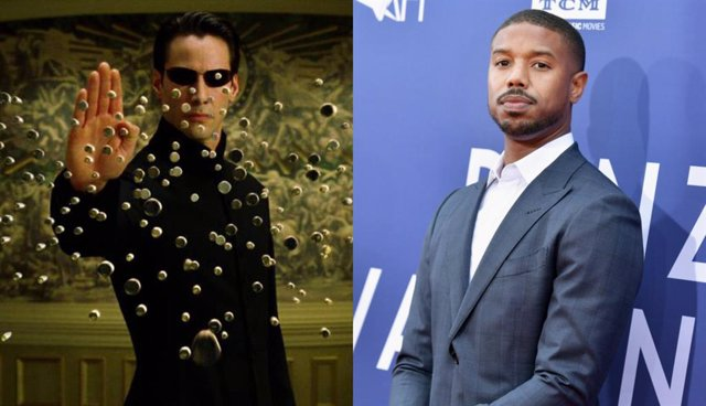 Michael B. Jordan y Matrix