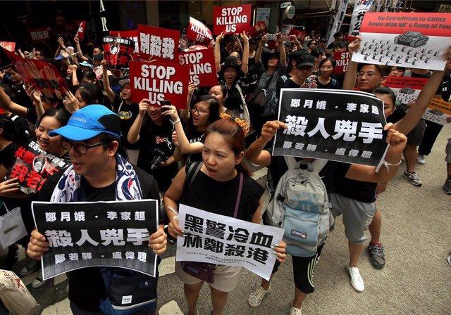 Protestas en Hong Kong del 16 de junio