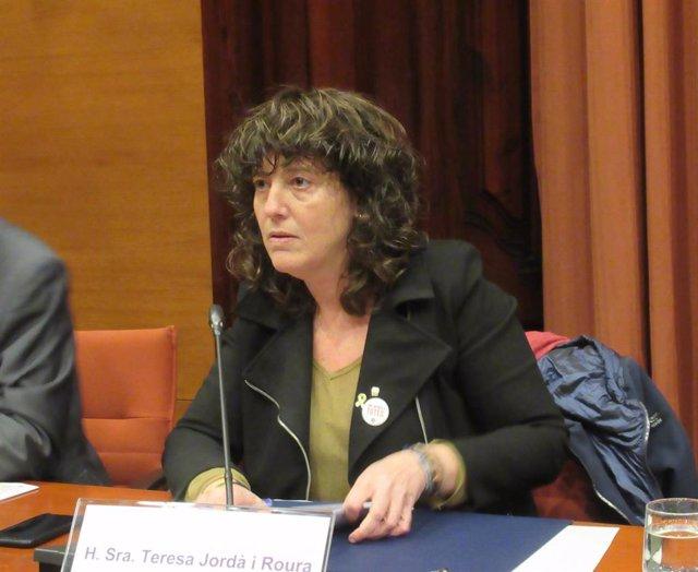 La consellera d'Agricultura de la Generalitat, Teresa Jordà (ARXIU)