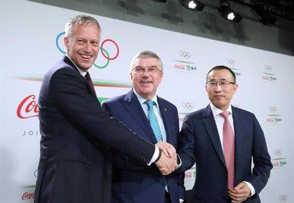 El COI renueva su acuerdo con Coca-Cola hasta los Juegos de 2032