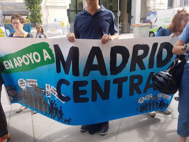 Nace la plataforma por Madrid Central