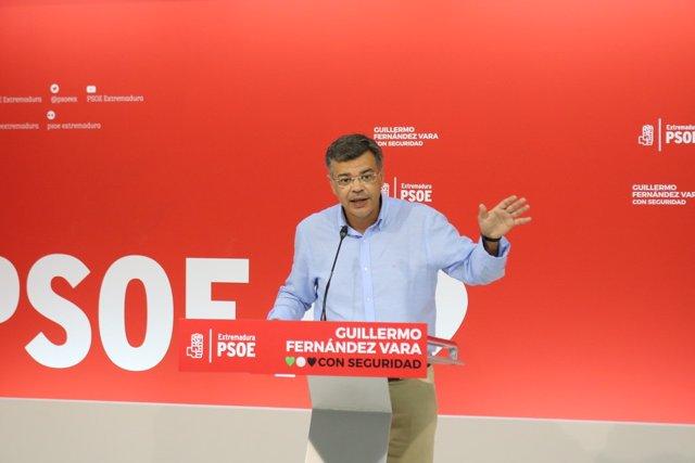 Juan Antonio González en rueda de prensa